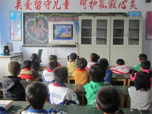 认真 计划 登录 扬帆 孩子们 加入 中心小学 上课/孩子们在认真上课中
